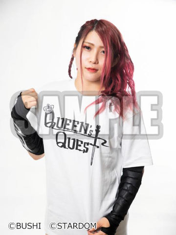 Queen's Quest unit logo T-shirt (White)