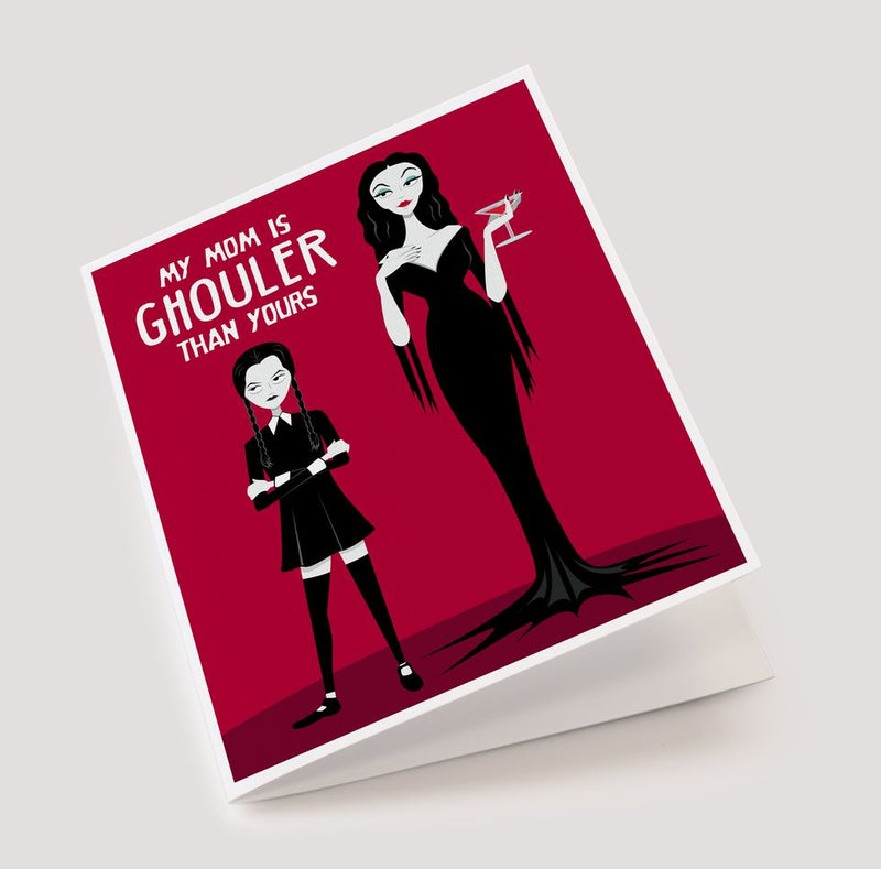 Morticia Mother's Day Card