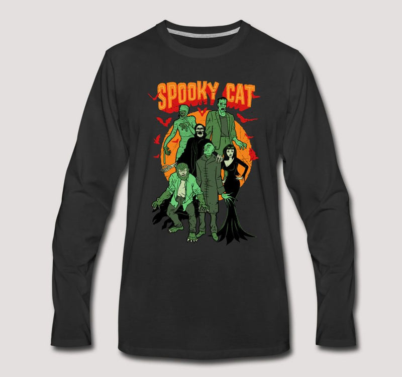 Spook Show Long Sleeve T-Shirt - black
