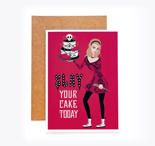 Vampire Slayer Birthday Card - Buffy the Vampire Slayer