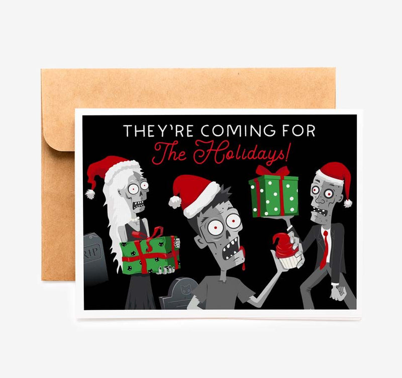Night of Zombie Holiday Card