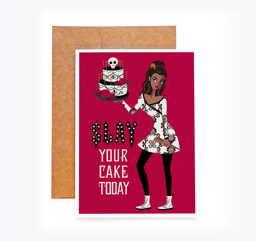 Vampire Slayer Birthday Card - Kendra Young