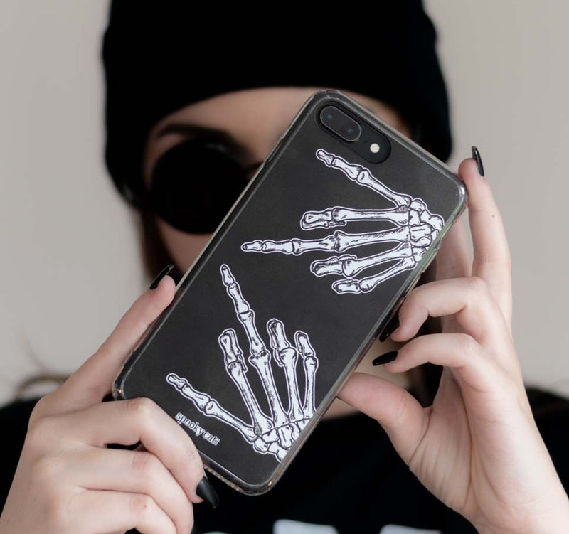 Nu Goth Skeleton Iphone Case