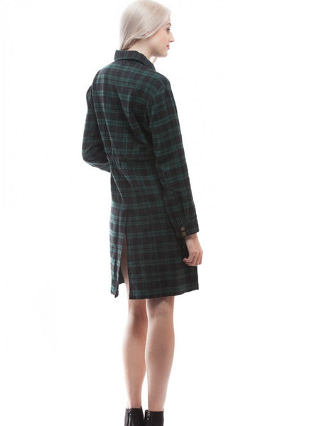 Irish Morning Plaid Dress