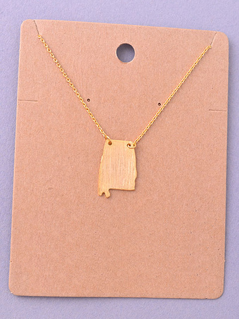 State Necklace - Alabama