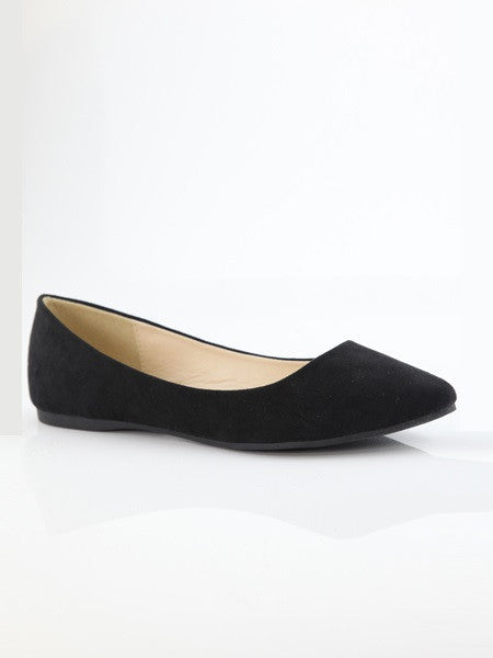 Angie Suede Flats