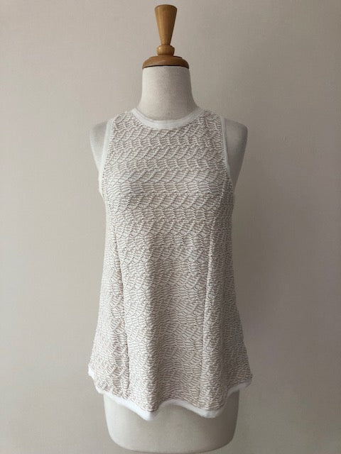 Anthropologie 9-H15 StCL Textured Swing Tank, size S