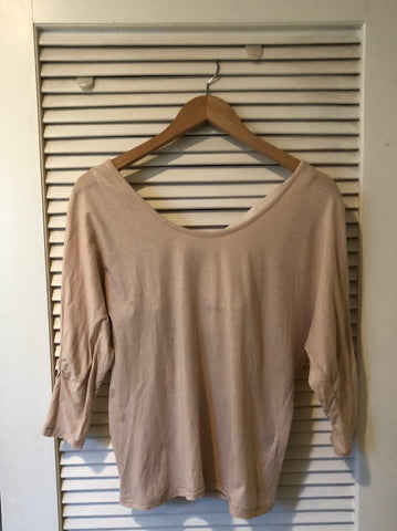 Elizabeth & James Scoop Back Cotton Top