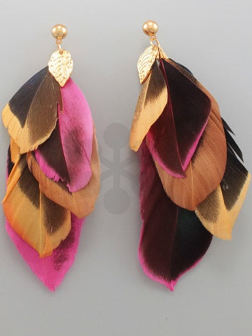 Feathery Fun Earrings