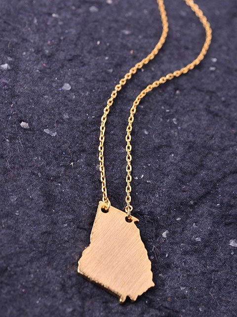 State Necklace - Georgia