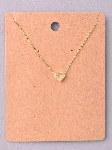 Tiny Heart Delicate Necklace