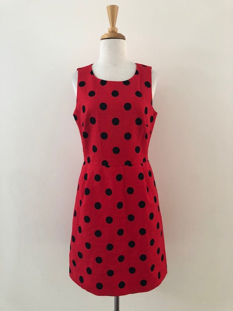 J.Crew Polka Dot Shift Dress w/ Tags, size 4