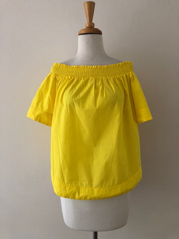 J.Crew Cotton Off The Shoulder Top, size 4