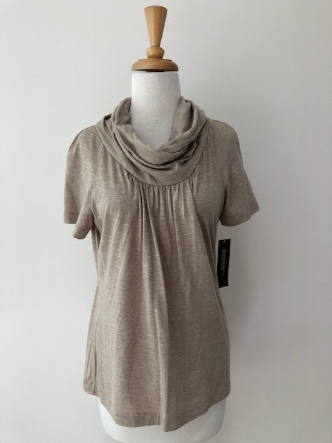Lafayette Cowl Neck Top w/ Tags, size M