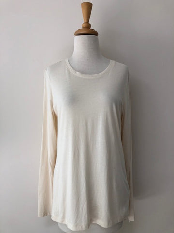 Lilla P Pima Cotton Crew Neck w/ Tags, size L