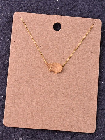 Hedgehog Delicate Necklace