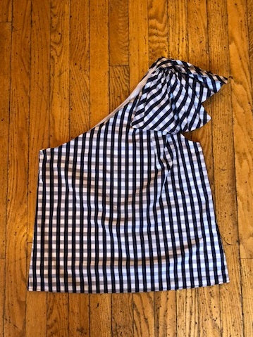 Milly Cindy Gingham Top w/ Tags