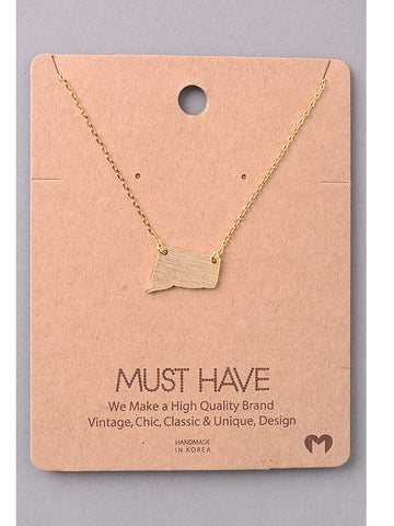 Must Have Connecticut Necklace