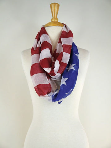 Flag Infinity Scarf