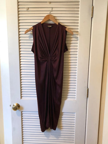 Rozae Nichols Silk Midi Dress, sz. P