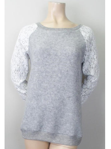 Trace of Lace Sweater