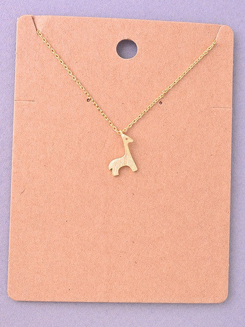 Giraffe Delicate Necklace