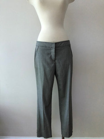 Trina Turk Moss Houndstooth Pants, size 6