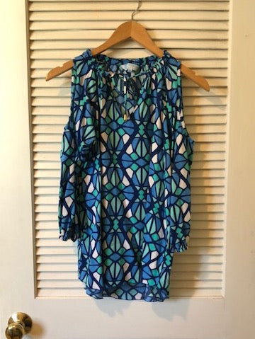 Escapada Living Geometric Print Tunic
