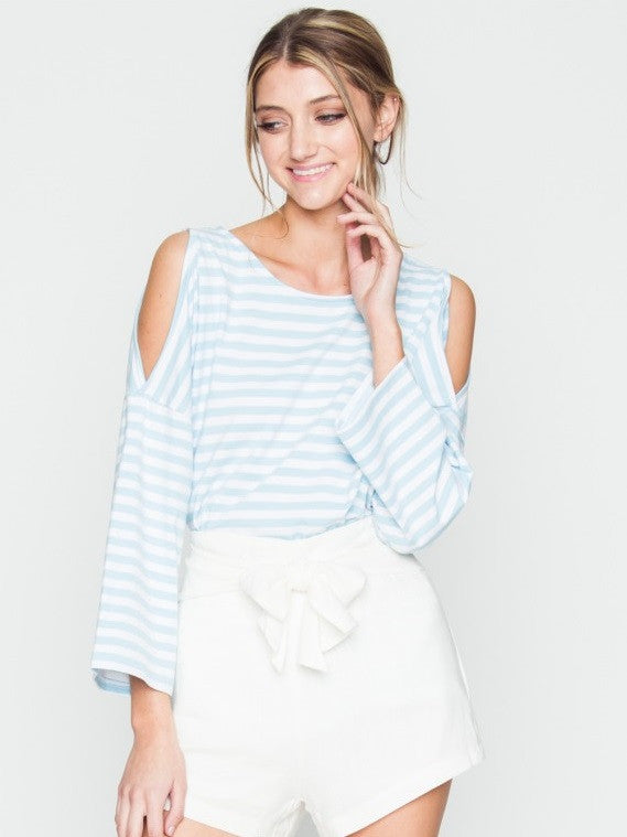 Cool Summer Stripe Top