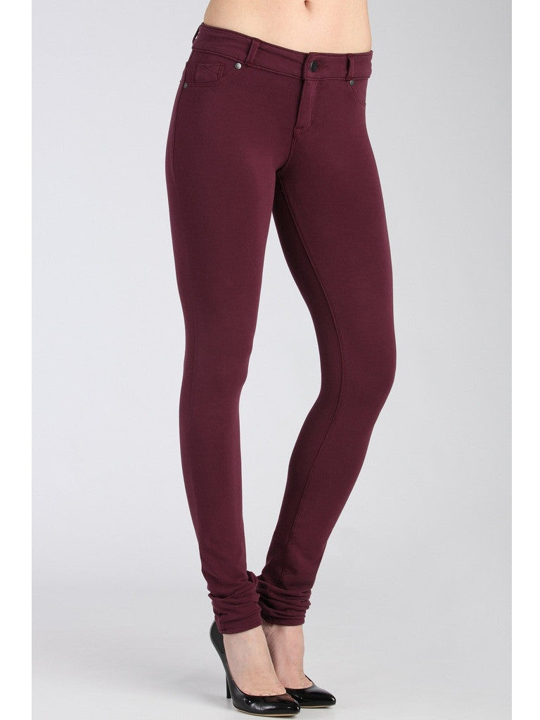 Anarchy Skinny Knit Pants - Purple Jade