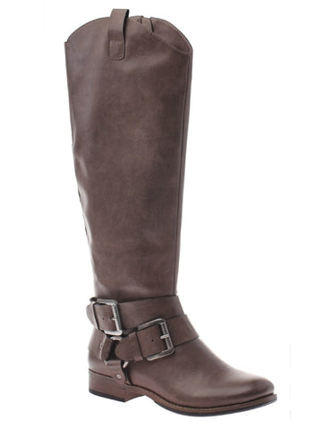 Madeline Grey Tall Boots