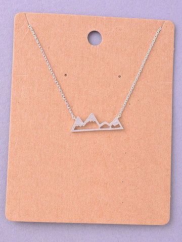 Mountain Delicate Necklace