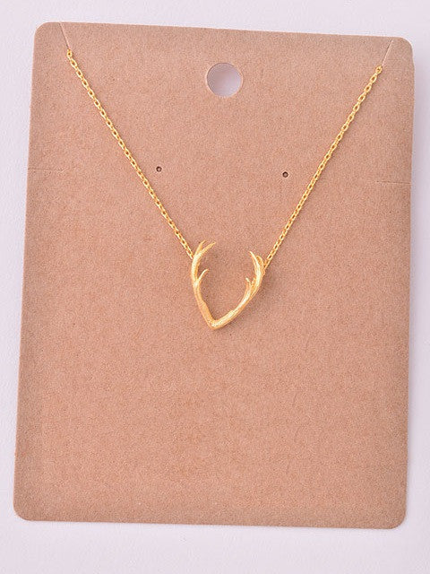Antler Delicate Necklace