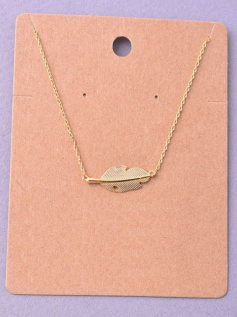 Leaf Delicate Necklace