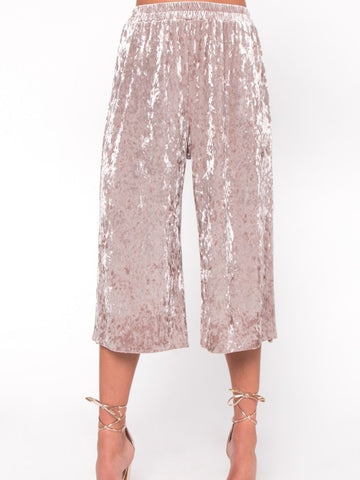 Pop The Bottle Culotte Pants