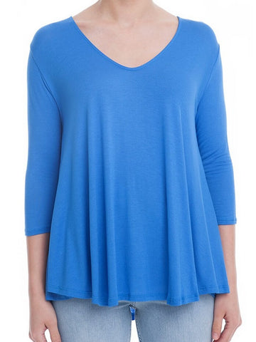 Slouchy V-Neck Top
