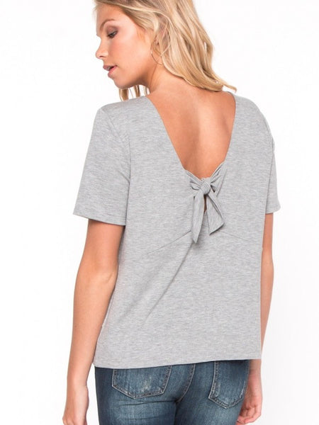 Bowed Back Top