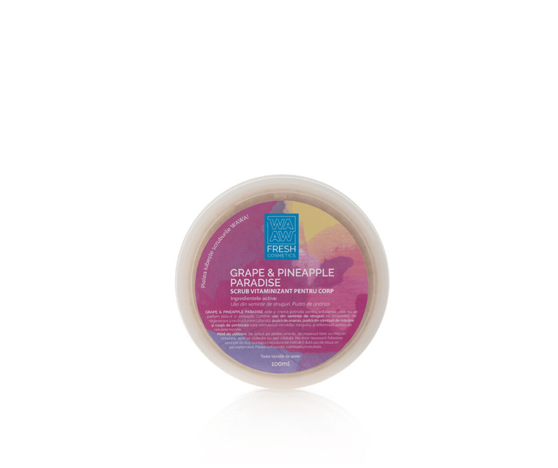 Scrub vitaminizant GRAPE & PINEAPPLE PARADISE