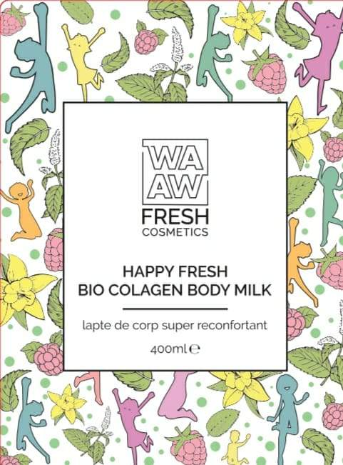 Lapte de corp super reconfortant Happy Fresh Bio Colagen Body Milk