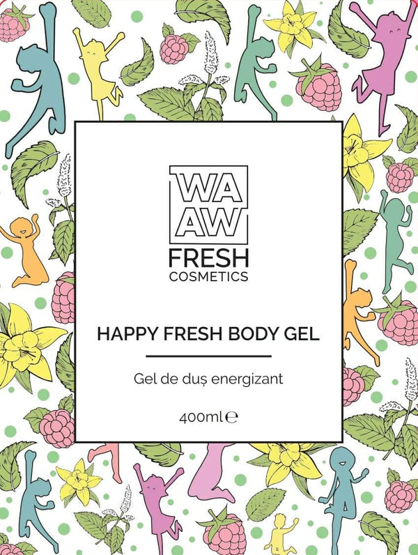 Gel de duș energizant Happy Fresh Body Gel