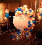 Balloons Garland Arch & Board Backdrop [DAR04]