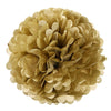 "12"" Tissue Paper Pom Pom Golden - Funzoop"