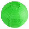 Round Paper Lanterns (Green) - Funzoop