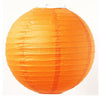 Round Paper Lanterns (Orange) - Funzoop