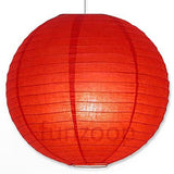 Round Paper Lanterns (Red) - Funzoop