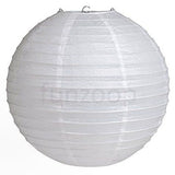Round Paper Lanterns (White) - Funzoop