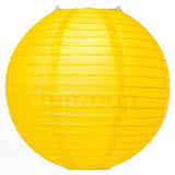 Round Paper Lanterns (Yellow) - Funzoop
