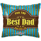 Best Dad Father's Day Foil Balloon - Funzoop