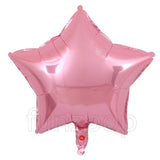 "18"" Star Shape Solid Color Foil Balloon (Pink) - Funzoop"