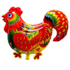 Colorful Cock Foil Balloon - Funzoop